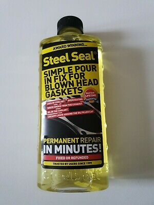 $85 • Buy Steel Seal Head Gasket Sealer 16 Oz For 4 Cylinder Cars - Free Shipping!