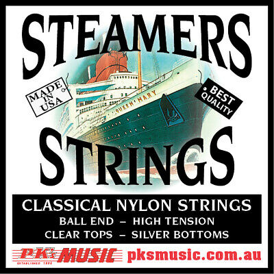 $ CDN10.23 • Buy STEAMERS High Tension Ball End Classical Guitar Strings, USA MADE, FREE POSTAGE