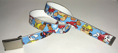 $12.99 • Buy PAW PATROL BELT & Buckle Animated Series Kid Children's TV Show Cartoon Web NEW