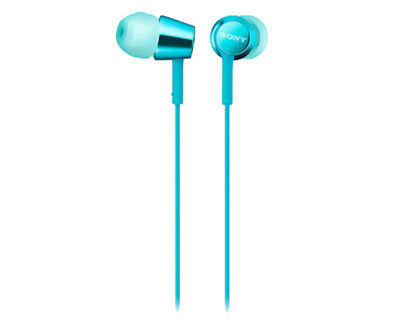 AU49 • Buy SONY Mid Range In-Ear Headphones With Remote (Light Blue)