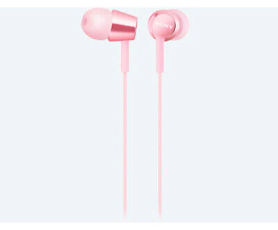 AU49 • Buy SONY Mid Range In-Ear Headphones With Remote (Light Pink)