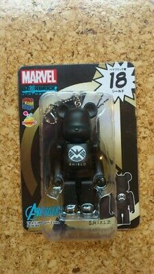 $25 • Buy Medicom Marvel Bearbrick Keychain - No. 18 Avengers SHIELD