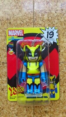 $50 • Buy Medicom Marvel Bearbrick Keychain - No. 19 X-Men Wolverine