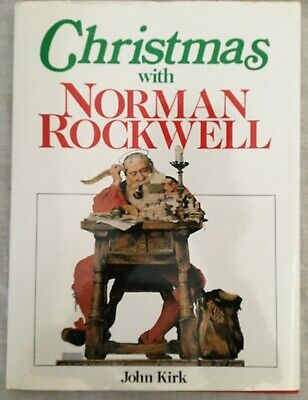 $ CDN14.60 • Buy CHRISTMAS WITH NORMAN ROCKWELL • John Kirk • 1990 • Gallery Books, NY • EXC