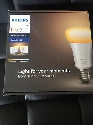AU115 • Buy Philips Hue White Ambiance Smart Bulb Starter Kit Brand New