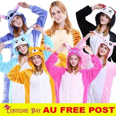 AU29.95 • Buy New Adult Animal Kigurumi Cosplay Unisex Fleece Sleepwear Pajamas Onesie Costume