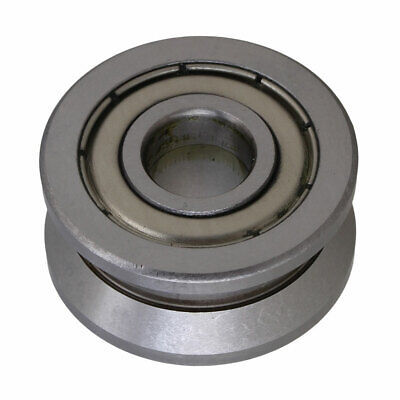 $7.50 • Buy Steel Groove Ball Bearing Sealed Wire Pulley Wheel For Cylindrical Guide