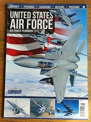$8.24 • Buy United States Air Force Air Power Yearbook 2016 Combat Aircraft USAF Military