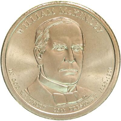 $3.98 • Buy 2013 P Presidential Dollar William McKinley Choice BU Clad US Coin
