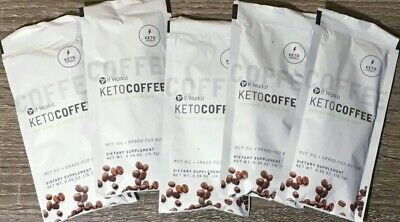 $19.95 • Buy It Works! Keto Coffee 5 Packets MCT Oil, Grass-fed Butter & Collagen NEW!