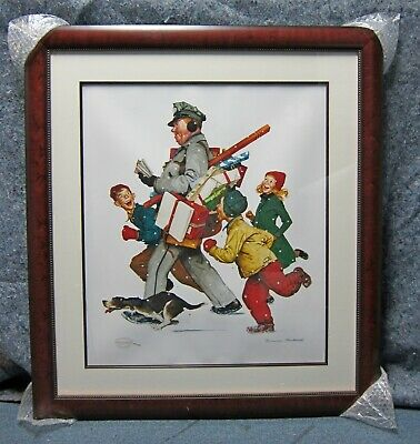 $ CDN778.53 • Buy Norman Rockwell 2005 Limited Edition JOLLY POSTMAN Print Park West 402/750