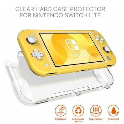 AU9.99 • Buy For Nintendo Switch Lite Clear Transparent Shockproof Protective Hard Case Cover