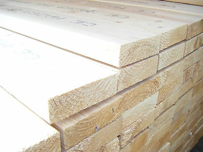 £17.57 • Buy SOFTWOOD C16 KILN DRIED EASED EDGE JOISTS EX 50mm X 150mm (6X2) VARIOUS LENGTHS