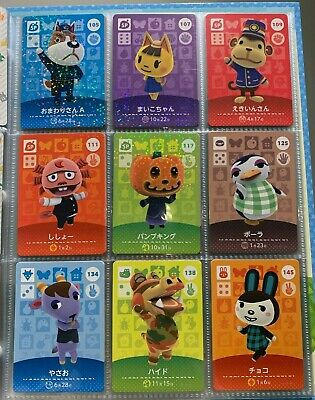 AU8 • Buy Animal Crossing Amiibo Cards Series 2 #101-200 New Horizons Nintendo Switch NM