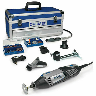 Dremel 4000 Platinum Multi Tool Kit 128 Piece F0134000KF Rotary Carry Case • 187.92£