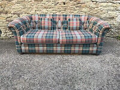 Checked Fabric John Lewis Sofa FREE DELIVERY 🚚 • 450£