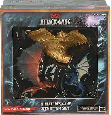 AU59.99 • Buy DUNGEONS & DRAGONS: Attack Wing - Miniatures Game Starter Set (WizKids) #NEW