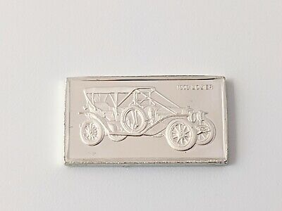 Pinches Silver Ingot 100 Greatest Cars 1909 Lozier Free UK P&P • 4.75£