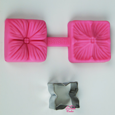 Hydrangea Flower - Silicone Mould And Cutter • 4.96£
