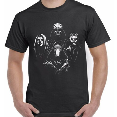 Star Wars Rhapsody Adults T-Shirt Tee Top Sizes S-XXL • 5.99£