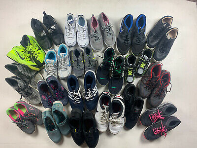 $ CDN139.41 • Buy Lot Wholesale Used Rehab Resale Athletic Shoes Multiple All Sizes Auction 25 Lbs