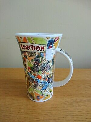 Dunoon Tour Of London Glencoe Shape Mug - 500ml -  Design By Caroline Dadd • 20£