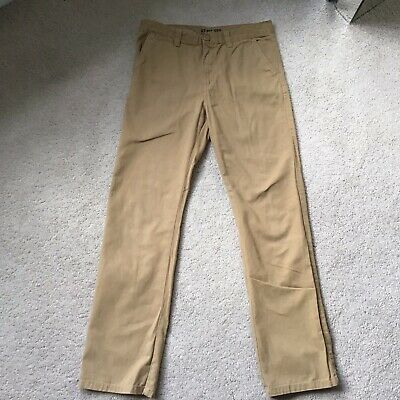 £4 • Buy Boys Chino Style Camel Colour, Slim Fit Trousers. Age 12-13yrs.