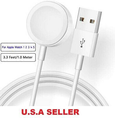 $ CDN7.51 • Buy Magnetic Charging Dock USB Charger Cable For Apple Watch IWatch Series 5 4 3 2 1