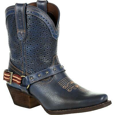 $156 • Buy Crush™ By Durango® Women's Blue Ventilated Shortie Western Boot