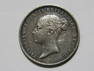 $15 • Buy Great Britain 1839 6 Pence Queen Victoria Toned Low Grade Silver World Coin🌈⭐🌈
