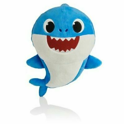 $15.95 • Buy Baby Shark Plush Singing Official Music Song Pinkfong Toys WowWee Plush Toy BLUE