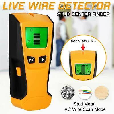 £13.95 • Buy Metal Wood StudsElectric Detector AC Voltage Live Wire Detect Wall Scanner