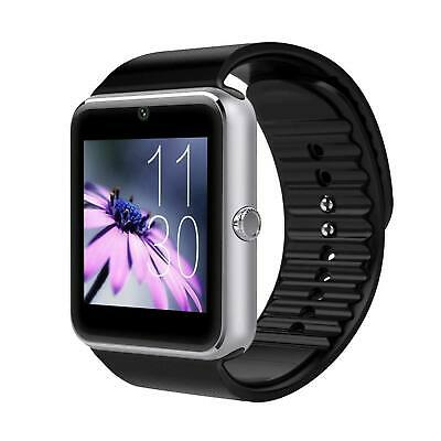 £9.99 • Buy 2019 GT08 Bluetooth Smart Watch Camera For Android IOS GSM GPRS SIM TF Card Slot