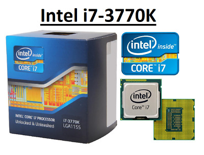 Intel Core I7-3770K SR0PL ''Ivy Bridge'' 4 Core, LGA1155, Clock 3.5 - 3.9GHz CPU • 129.98£
