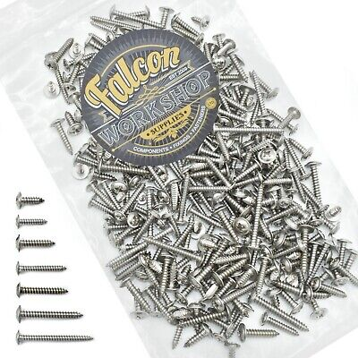 £7.99 • Buy 400g MIXED PACK OF STAINLESS STEEL A2 POZI FLANGE HEAD SELF TAPPING SCREWS