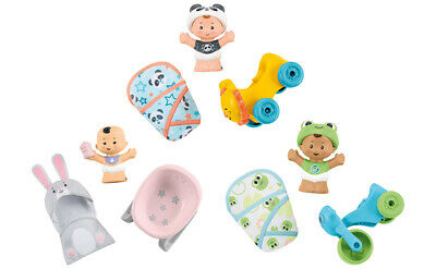 Fisher Price  Little People Bundle 'n Play Baby Figure + Accessories 1 Supplied • 10.99£