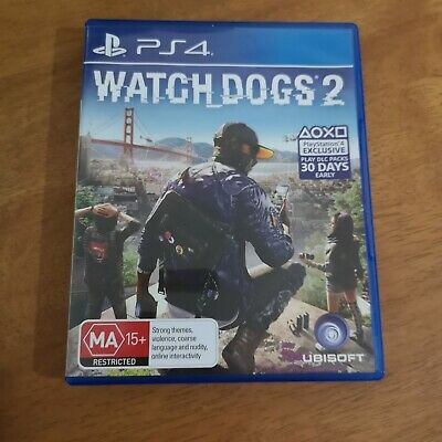 AU1.25 • Buy Watch Dogs 2 Ps4 (like New)