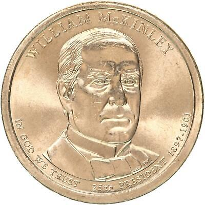 $3.54 • Buy 2013 P Presidential Dollar William McKinley BU Clad US Coin