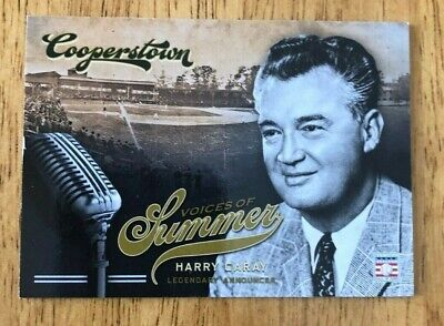 $0.99 • Buy 2012 Panini Cooperstown Harry Caray Chicago Cubs Voices Of Summer #2
