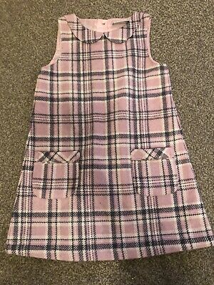Next Girls Pink Checked Dress Age 3-4 Years  • 4.50£