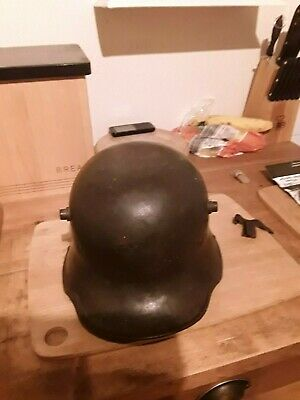 VERY RARE WW1 GERMAN M16 HELMET 1916. Amazing Original Condition. • 165£