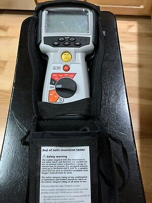 $155 • Buy Megger MIT410-TC2 Insulation And Continuity Tester