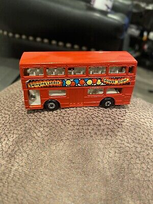 $ CDN10.71 • Buy Vintage Matchbox Superfast No 17 The Londoner Red Double Decker Bus Nice England
