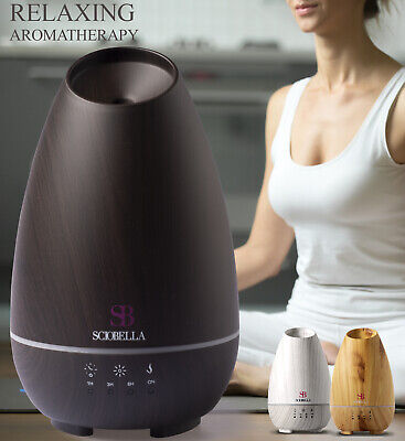 AU26.71 • Buy Essential Oil Diffuser For Large Room Ultrasonic Aromatherapy & Mist Humidifier
