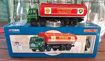Corgi 24203 Leyland Elliptical Tanker & Diecast Petrol Pump - Shell And BP. • 25£