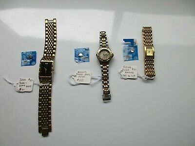 $ CDN29.99 • Buy Lot Of 3 Vintage Watches With New Batteries Lists $225 Start $29 Reg Mail $9.99