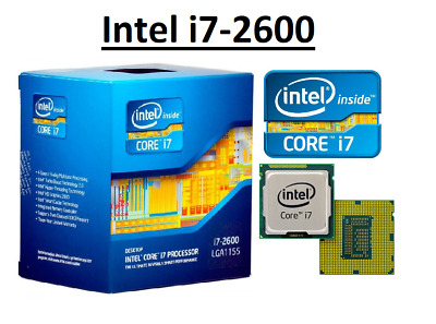 Intel Core I7-2600 SR00B ''Sandy Bridge'' 4 Core, LGA1155, Clock 3.4-3.8 GHz CPU • 89.98£