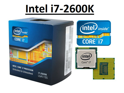Intel Core I7-2600K SR00C ''Sandy Bridge'' 4 Core, LGA1155, Clock 3.4-3.8GHz CPU • 103.98£