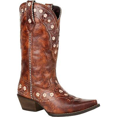 $99.99 • Buy Crush™ By Durango® Women's Cognac Floral Western Boot