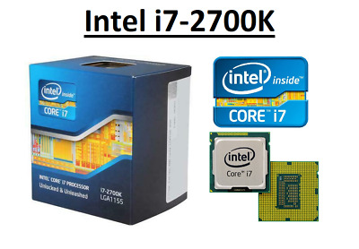 Intel Core I7-2700K SR0DG ''Sandy Bridge'' 4 Core, LGA1155, Clock 3.5-3.9GHz CPU • 107.95£